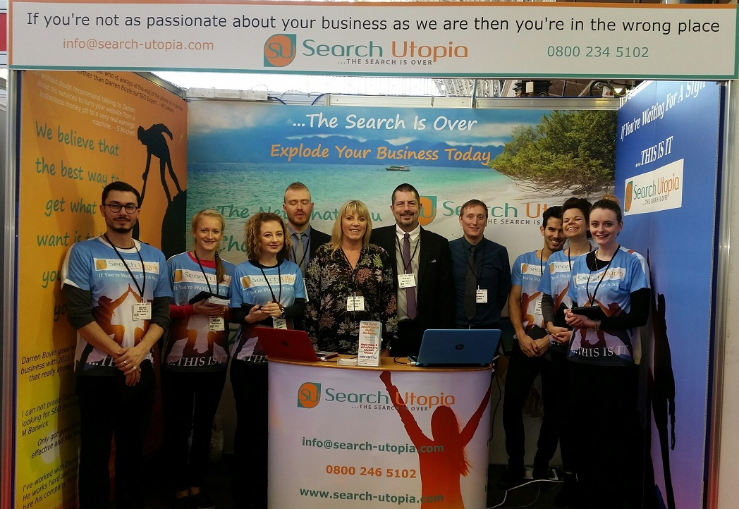 The Great British Business Show at Olympia in London